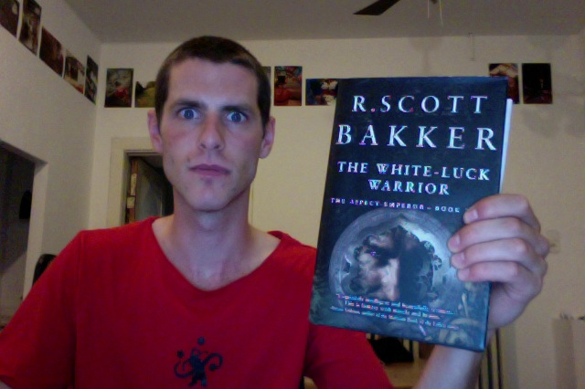 SFBRP #136 - R Scott Bakker - The White Luck Warrior