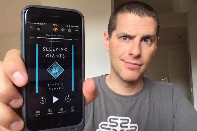 SFBRP #332 - Sylvain Neuvel - Sleeping Giants - Themis Files #1