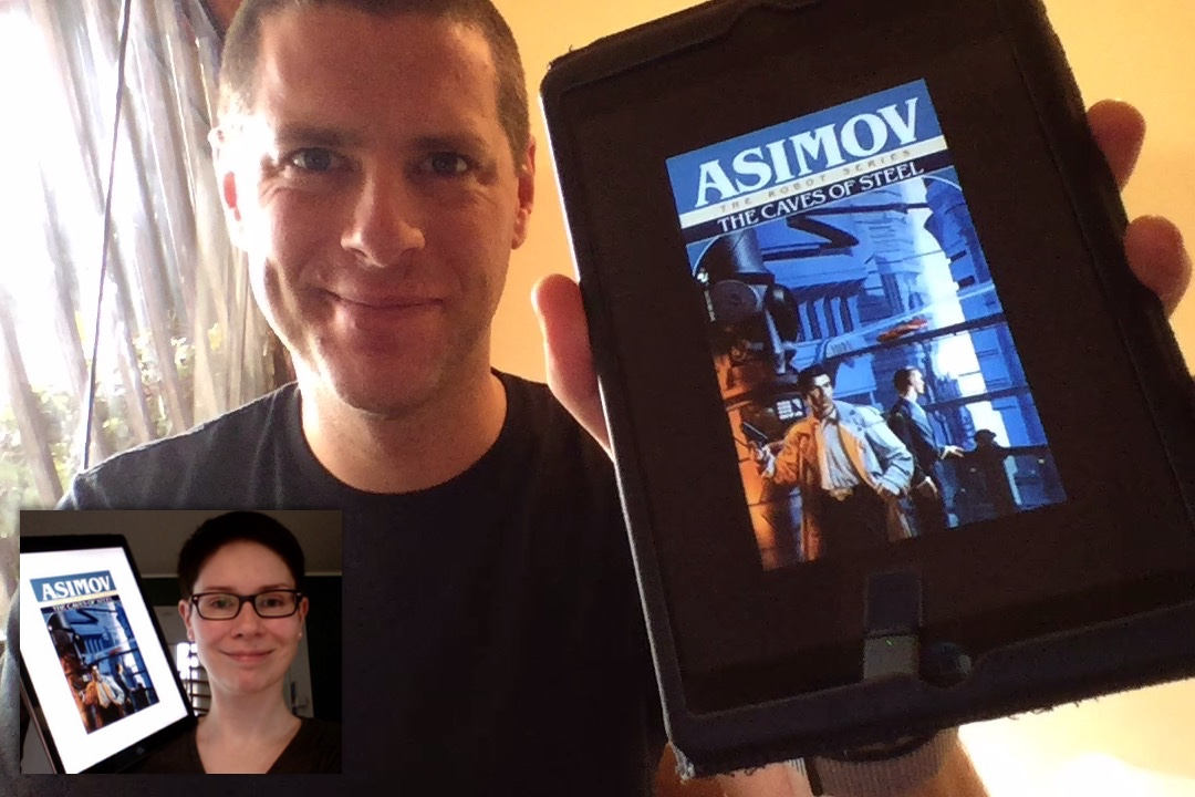 SFBRP #354 - Isaac Asimov - The Caves of Steel - Robot #1