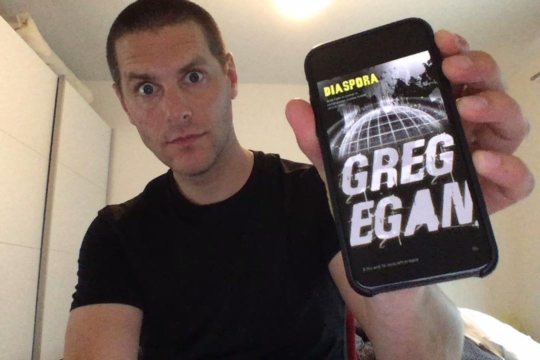 SFBRP #370 - Greg Egan - Diaspora