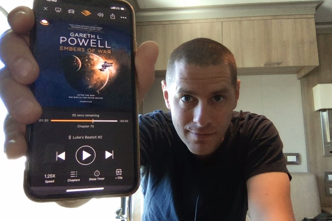 SFBRP #407 - Gareth L Powell - Embers of War - Embers of War #1